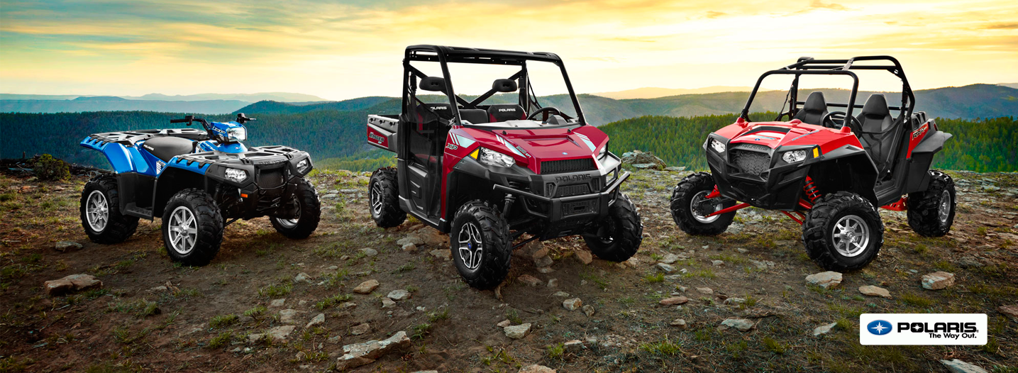 New and Used Polaris ATV's and Rangers